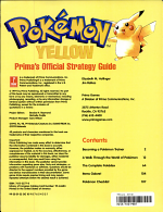Pokemon Yellow PDF