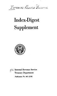 Index digest Supplement
