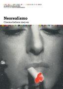 Neorealismo  Cinema italiano 1945 49 PDF