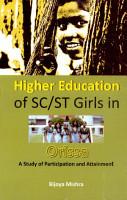 Higher Education of SC ST Girls in Orissa PDF