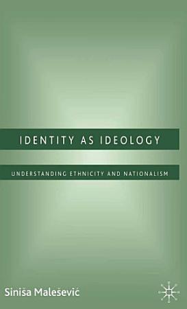 Identity as Ideology PDF