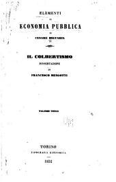 Elementi di economia pubblica di Cesare Beccaria