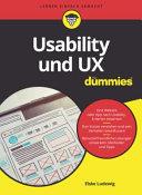 Usability und UX f  r Dummies PDF