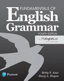 Fundamentals of English Grammar 4e Student Book with Myenglishlab PDF