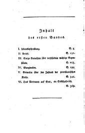 Lebensbeschreibung: nebst einigen von ihm hinterlassenen Briefen und Schriften, Band 1