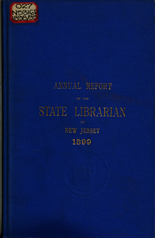 Annual Report of the State Librarian of New Jersey PDF