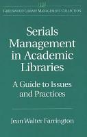 Serials Management in Academic Libraries PDF