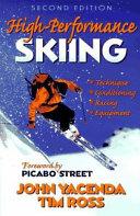 High-performance Skiing