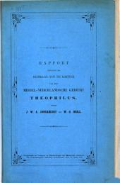 Rapport omtrent de bydrage tot de kritiek van het middel-nederlandsch gedicht Theophilu