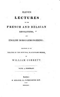 Eleven Lectures on the French and Belgian Revolutions  and English Boroughmongering PDF
