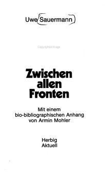 Ernst Niekisch PDF