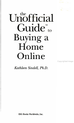 The Unofficial Guide to Buying a Home Online PDF