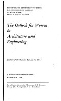 The Outlook for Women in Science  Architecture and engineering PDF