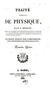 Traité élémentaire de physique