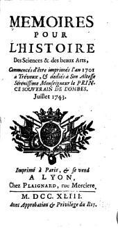 Journal de Trévoux: Volume3
