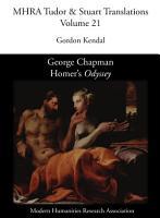 George Chapman  Homer s  Odyssey  PDF