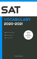 SAT Official Vocabulary 2020 2021