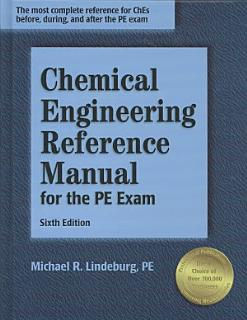 Chemical Engineering Reference Manual for the PE Exam Book