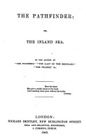The Pathfinder  or  the Inland sea  By the author of  The Pioneers  i e  J  Fenimore Cooper   etc PDF