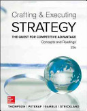 Crafting and Executing Strategy  Concepts and Readings PDF