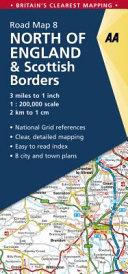 Aa North of England & Scottish Borders Road Map