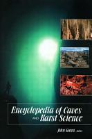 Encyclopedia of Caves and Karst Science PDF