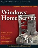 Windows Home Server Bible PDF