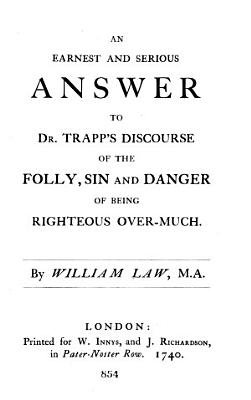 The Works of the Reverend William Law  M A      PDF