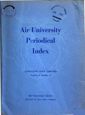 Air University Periodical Index PDF