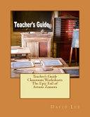 Teacher's Guide Classroom Worksheets the Epic Fail of Arturo Zamora