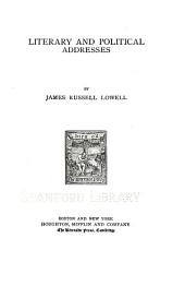 ...The Writings of James Russell Lowell in Prose and Poetry: Literary and political essays