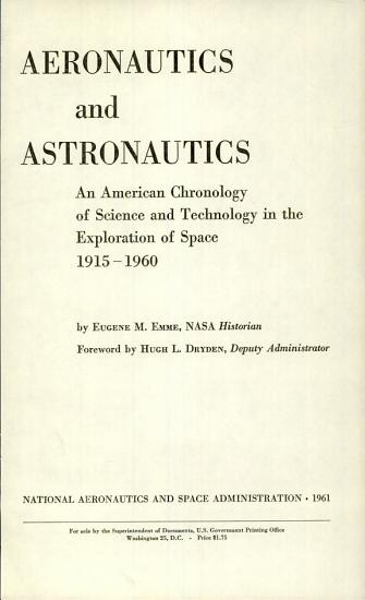 Aeronautics and Astronautics PDF