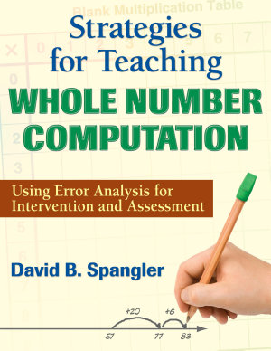 Strategies for Teaching Whole Number Computation