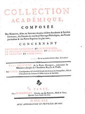 Collection académique: Mémoires abrégés de l'Académie royale de Prusse, par M. Paul. t.1-2. 1770