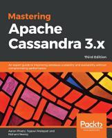Mastering Apache Cassandra 3 x PDF