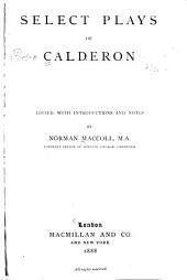 Select Plays of Calderon
