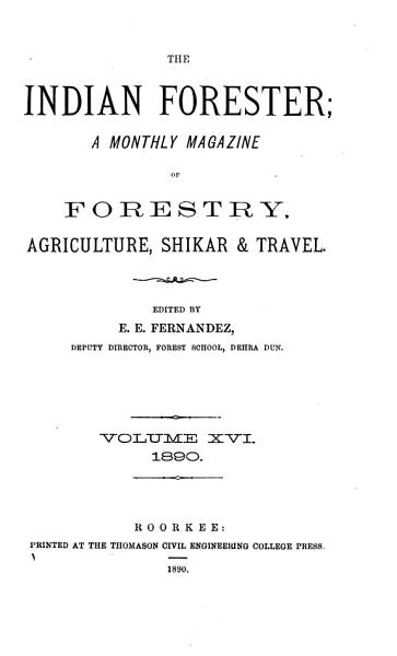 The Indian Forester PDF