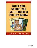 Could You, Should You Self-Publish a Picture Book?