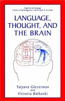 Language  Thought  and the Brain PDF