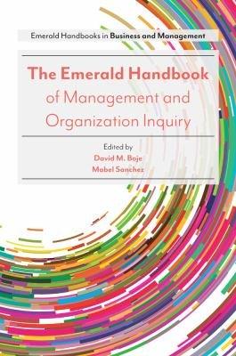 The Emerald Handbook of Management and Organization Inquiry PDF