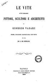 Le vite de' più eccellenti pittori, scultori e architetti di Giorgio Vasari