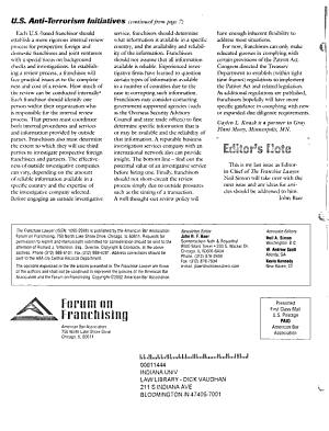 The Franchise Lawyer PDF