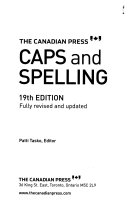 Download The Canadian Press Caps and Spelling Book