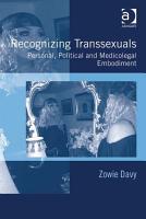 Recognizing Transsexuals PDF