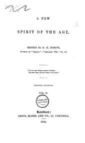A New Spirit of the Age: Volume 2