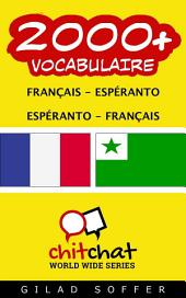 2000+ Français - Espéranto Espéranto - Français Vocabulaire