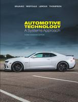 Automotive Technology  A Systems Approach  3rd ed   Canadian ed   PDF