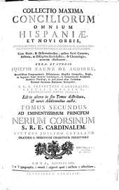 Collectio maxima conciliorum omnium Hispaniae et Novi Orbis... cura et studio Josephi Saenz de Aguirre,...