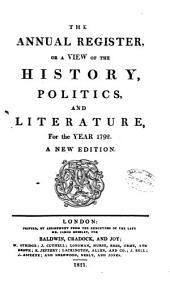 Annual Register: Volume 34
