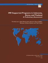 IMF-Supported Programs in Indonesia, Korea and Thailand